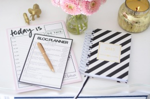 blog ideas notepad